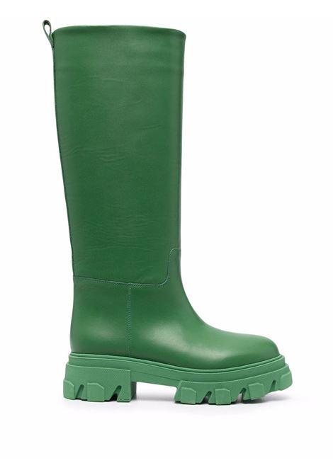 Green tubular combat boots - men  GIA BORGHINI | PERNI07B124