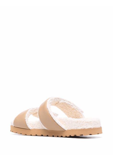 Strap on slides beige- women GIA BORGHINI | PERNI11A130