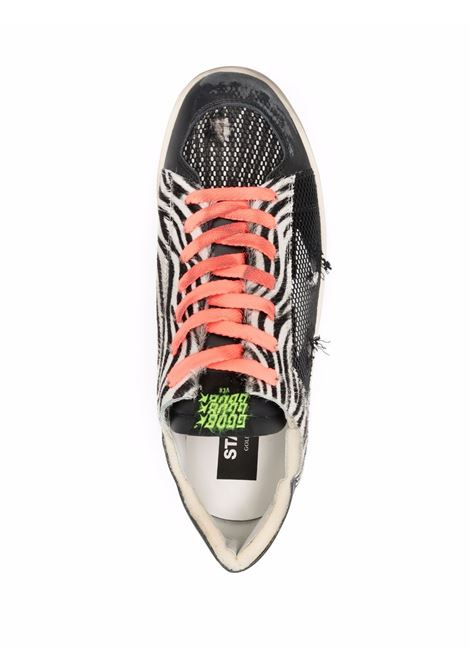 Sneakers basse stardan in bianco e nero - uomo GOLDEN GOOSE | GMF00128F00218990288