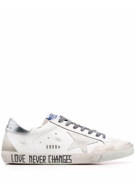 Sneakers basse super-star in bianco - uomo GOLDEN GOOSE | GMF00175F00194710273