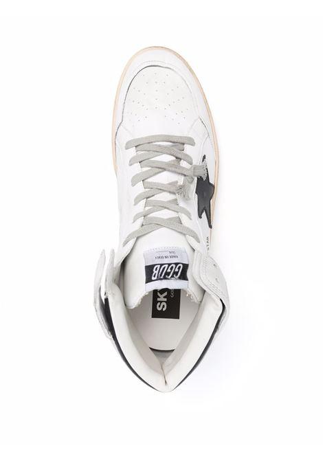 Sneakers alte Sky-Star in bianco e nero - Uomo GOLDEN GOOSE | GMF00230F00219010283