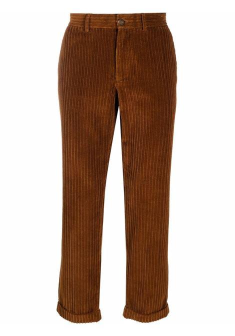 Pantaloni a coste in marrone - Uomo GOLDEN GOOSE | GMP00811P00051855238