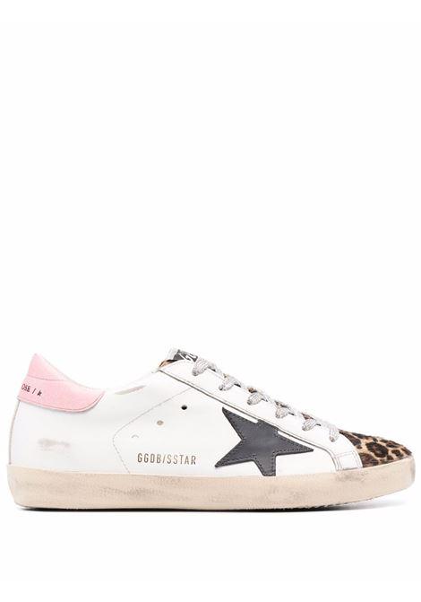 Sneakers superstar in bianco e beige - donna GOLDEN GOOSE | GWF00101F00189710725
