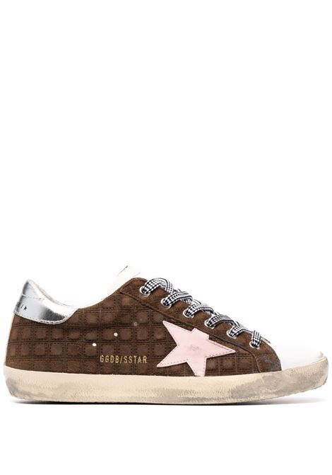 Sneakers Superstar in marrone, bianco e argento - donna GOLDEN GOOSE | GWF00101F00194955433