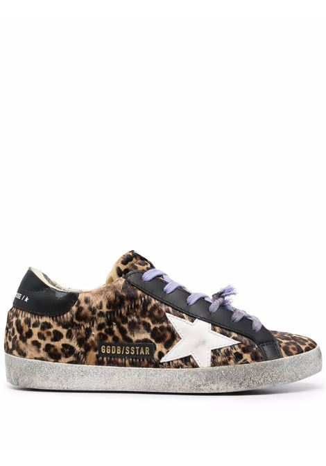 Sneakers basse super-star in bianco - donna GOLDEN GOOSE   GWF00101F00201081291