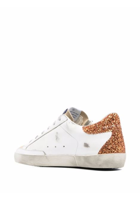 Sneakers basse superstar bianco e oro - donna GOLDEN GOOSE | GWF00102F00157581140
