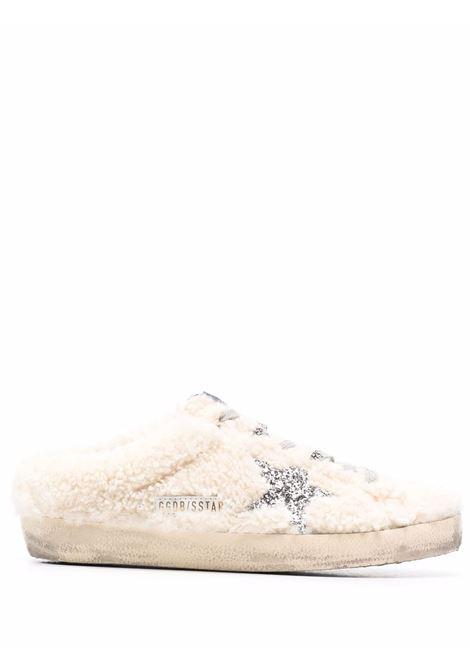 Mules superstar con effetto vissuto bianco crema - donna GOLDEN GOOSE | GWF00110F00198710757