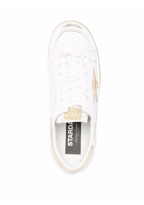 Sneakers basse stradan bianco e oro - donna GOLDEN GOOSE | GWF00128F00218710272