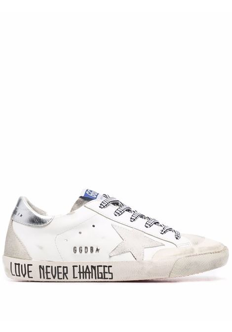Sneakers basse super-star in bianco - donna GOLDEN GOOSE   GWF00175F00194710273