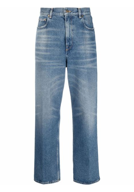 Jeans a gamba ampia in blu - donna GOLDEN GOOSE | GWP00102P00054050100