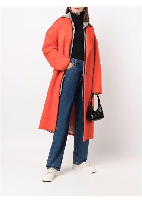 Cappotto monopetto arancione - donna GOLDEN GOOSE | GWP00566P00055740126