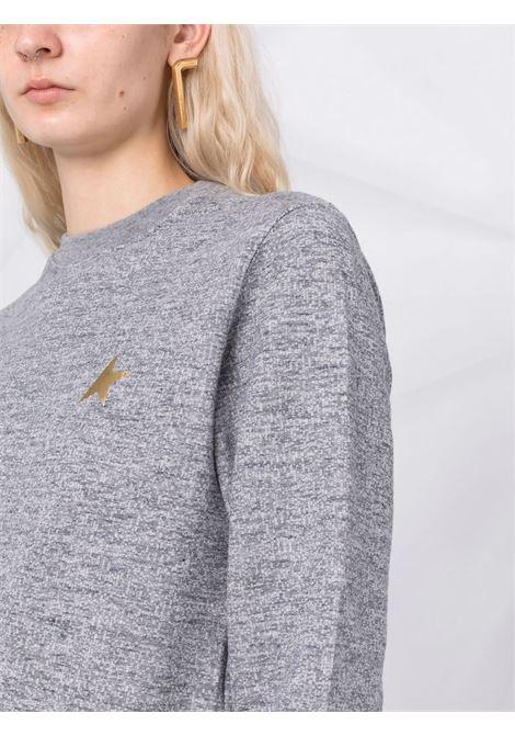 Star-motif sweatshirt in grey - women  GOLDEN GOOSE | GWP00869P00052260311