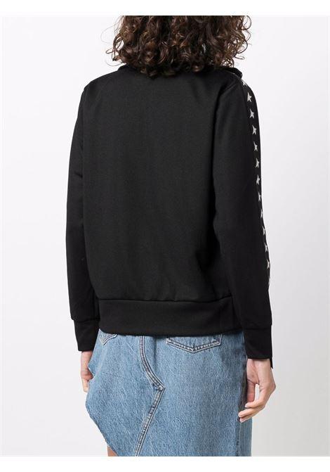 Denise star collection zipped sweatshirt in black - women  GOLDEN GOOSE | GWP00875P00052080203