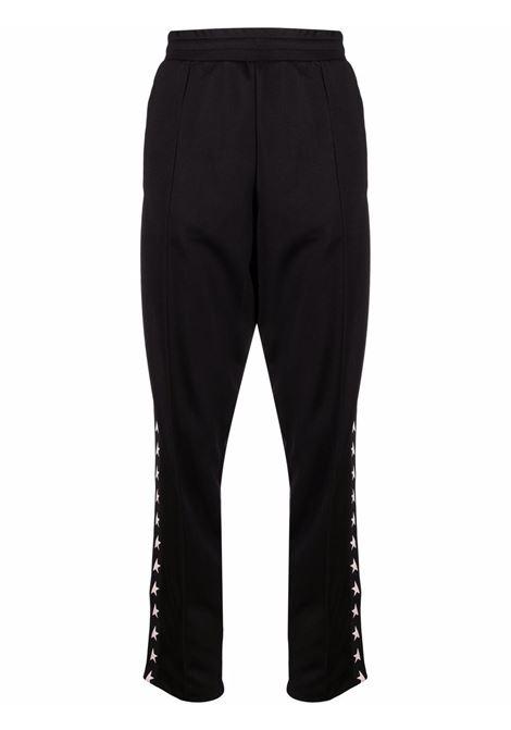 Pantaloni con stampa laterale nero - donna GOLDEN GOOSE | GWP00877P00052180203