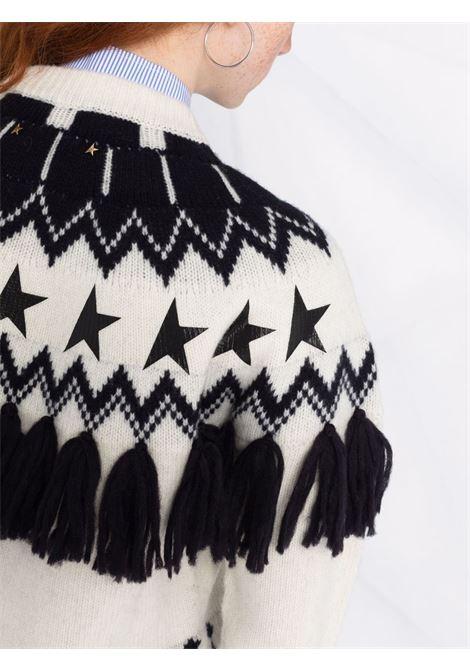 Maglione deidra norway in  bianco e nero - donna GOLDEN GOOSE | GWP00962P00022510379