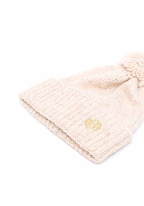 Light pink knitted bobble hat - women  GOLDEN GOOSE | GWP01040P00056255150