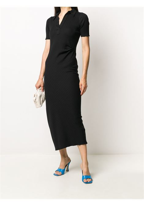 Mid-length dress black- women HELMUT LANG | K04DW602YVM