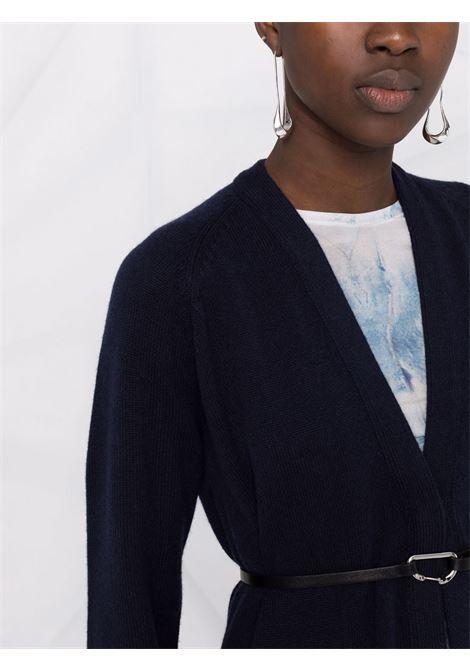 V-neck cardigan in blue - women  HELMUT LANG | L05HW702G0C