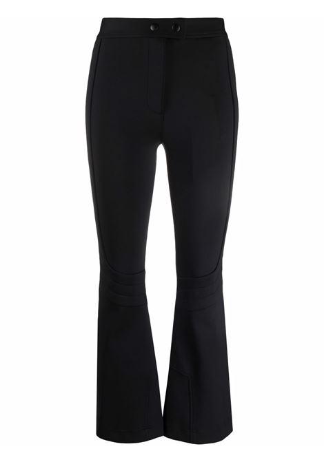 Pantaloni svasati con zip in nero - donna HELMUT LANG | L07HW205001
