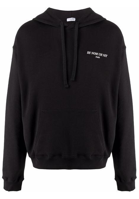 Black shipping label sweatshirt - men  IH NOM UH NIT | NUW21222009