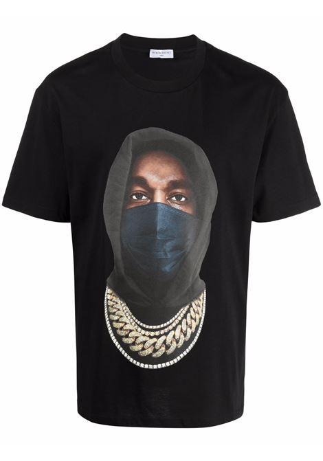 T-shirt con stampa grafica mask in nero - uomo IH NOM UH NIT | NUW21251009