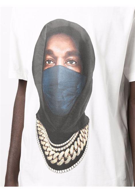 T-shirt con stampa grafica mask in bianco - uomo IH NOM UH NIT | NUW21251081