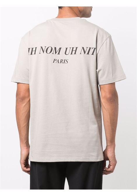 T-shirt con stampa grafica mask in grigio - uomo IH NOM UH NIT | NUW21251655