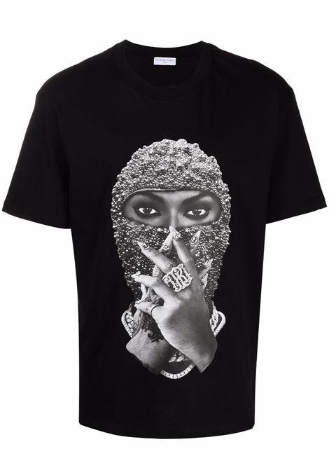 T-shirt con stampa grafica mask in nero - uomo IH NOM UH NIT | NUW21254009