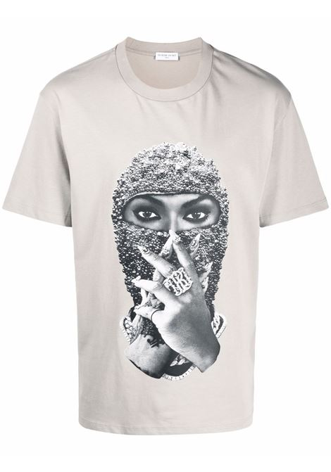 T-shirt con stampa grafica mask in grigio - uomo IH NOM UH NIT | NUW21254655