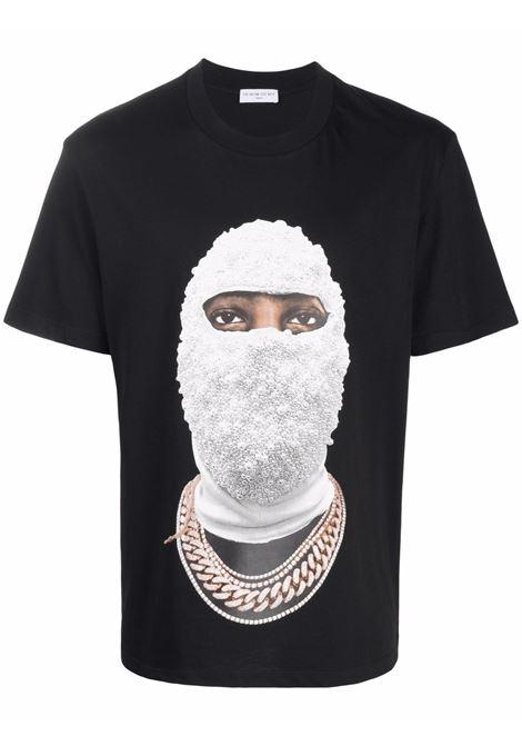 T-shirt con stampa grafica mask in nero - uomo IH NOM UH NIT | NUW21281009