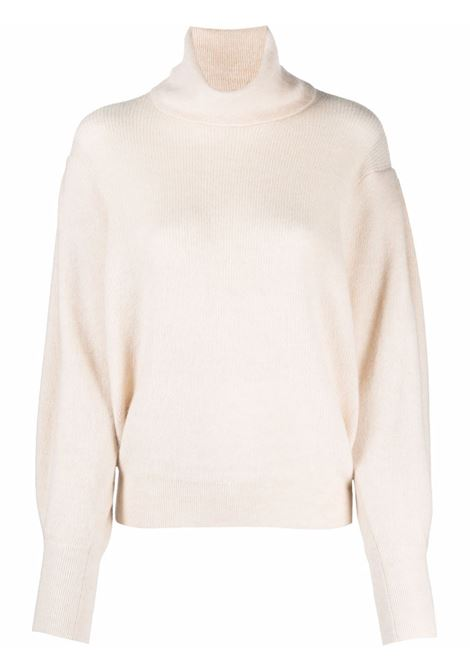 Cream roll-neck jumper- women  IRO | 21WWM12EDYNAECR09