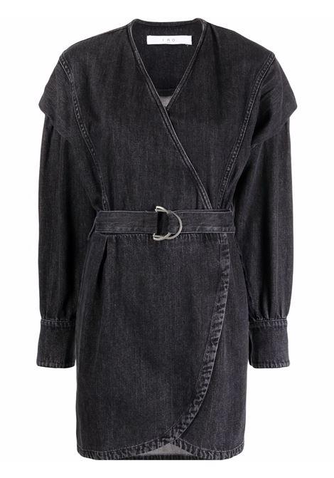 Gerlin belted mini dress in black dress - women  IRO | 21WWM33GERLINBLA24