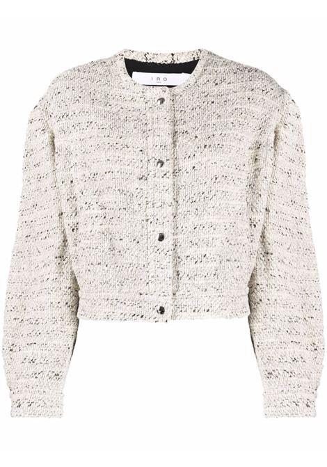 Ecru fitted tweed jacket - women  IRO | 21WWP07TOMMAECR2721W