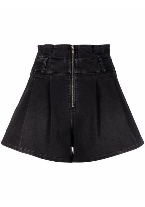Pantaloncini denim tocey in nero - donna IRO   21WWP30TOCEYBLA2021W