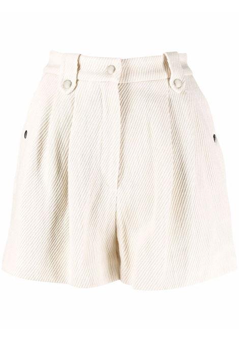 High waisted shorts corduroy beige- women IRO | 21WWP30VARDECR0121W