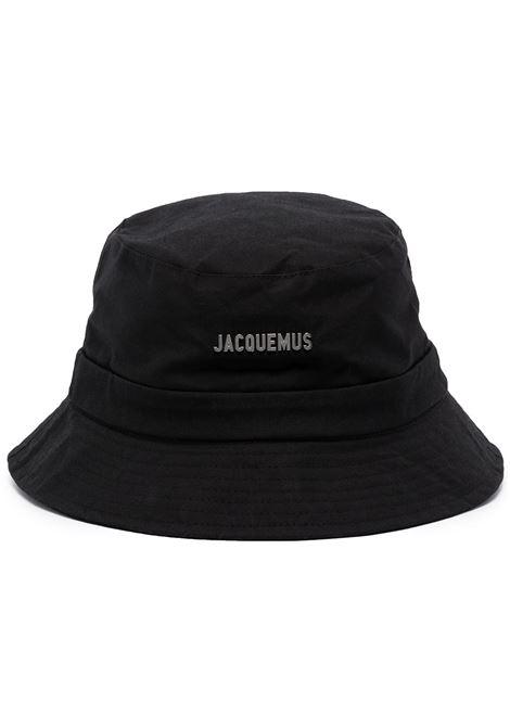 The bob gadjo bucket hat in black - unisex JACQUEMUS | 213AC0015030990