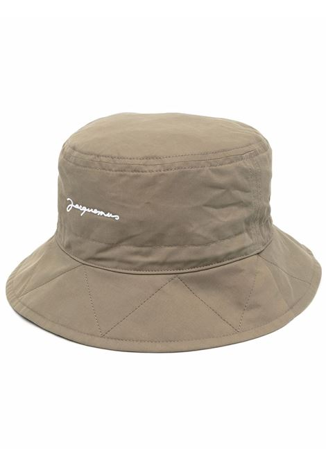 Cappello da pescatore Kaki green- unisex JACQUEMUS | 213AC1005050530