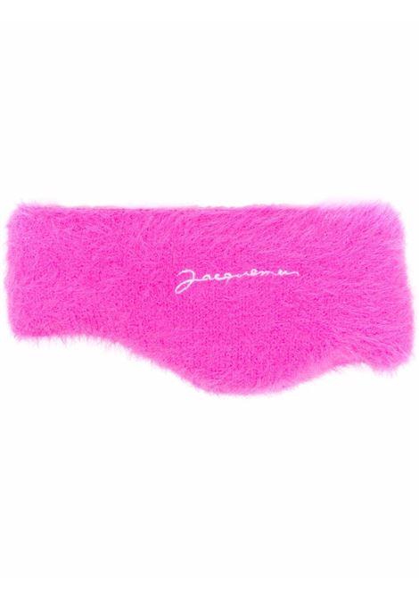 Pink neve headband - unisex JACQUEMUS | 213AC2005080430