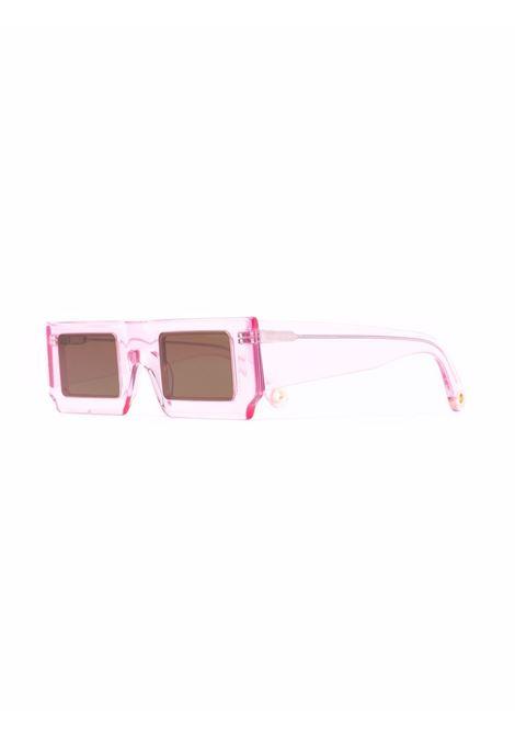 Occhiali quadrati rosa- unisex JACQUEMUS | 213AC2065040043