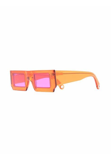 Occhiali quadrati arancione- unisex JACQUEMUS | 213AC2065040070