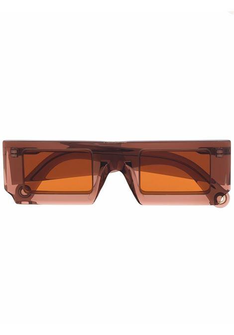 Occhiali quadrati marrone- unisex JACQUEMUS | 213AC2065040080