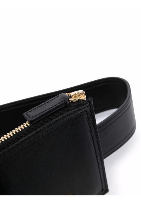 Cintura con placca nero- donna JACQUEMUS | 213AC3003000990