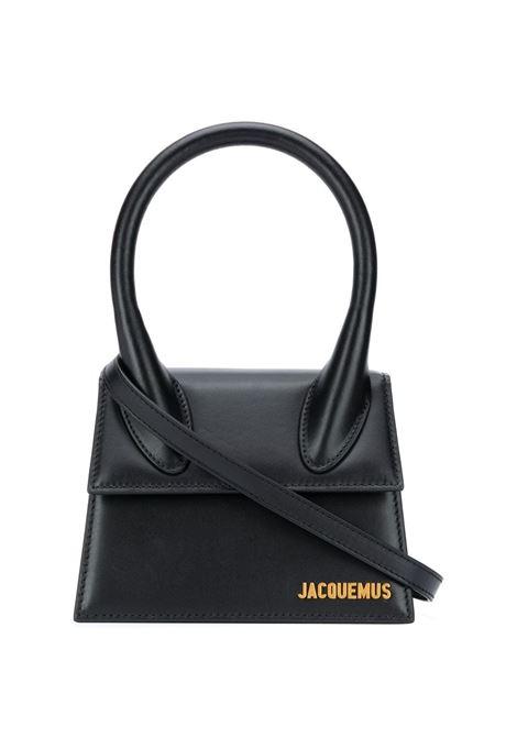 Le Chiquito moyen bag in black - women  JACQUEMUS | 213BA0023000990