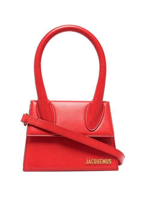 Borsa le chiquito moyen in rosso - donna JACQUEMUS | 213BA0023010470