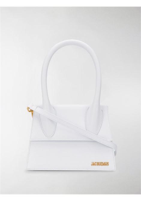 Borsa le grand chiquito in bianco - donna JACQUEMUS | 213BA0033000100