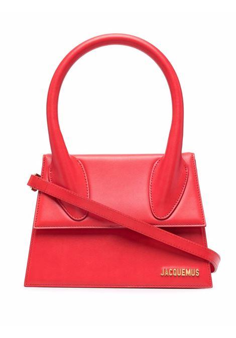 Borsa tote grande rosso- donna JACQUEMUS | 213BA0033010470