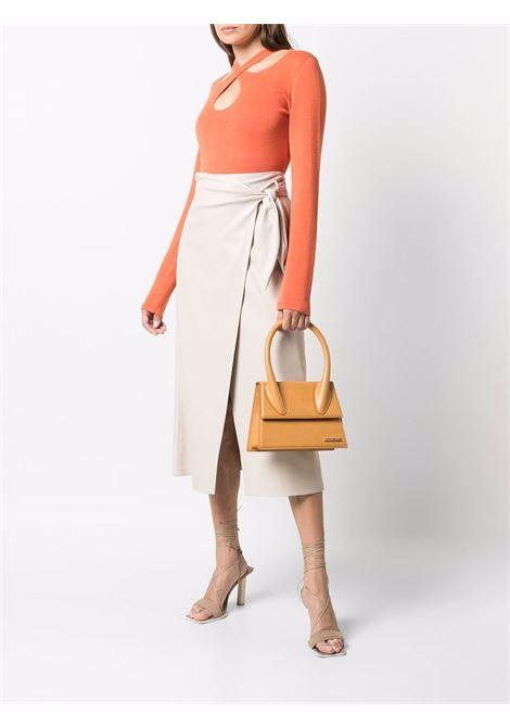 Medium size tote bag camel- women JACQUEMUS | 213BA0033010830