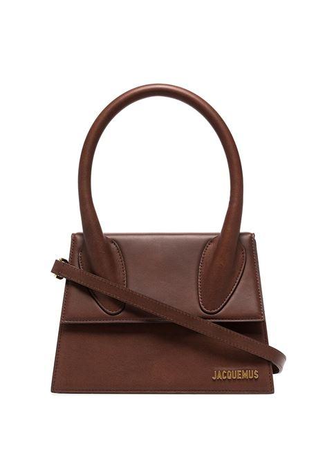 Borsa le grand chiquito in marrone - donna JACQUEMUS | 213BA0033020850