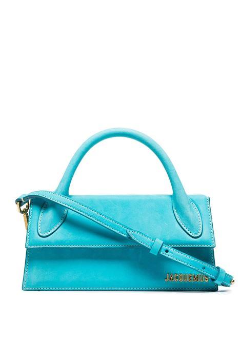 Tote bag turquoise- women JACQUEMUS | 213BA0043040340