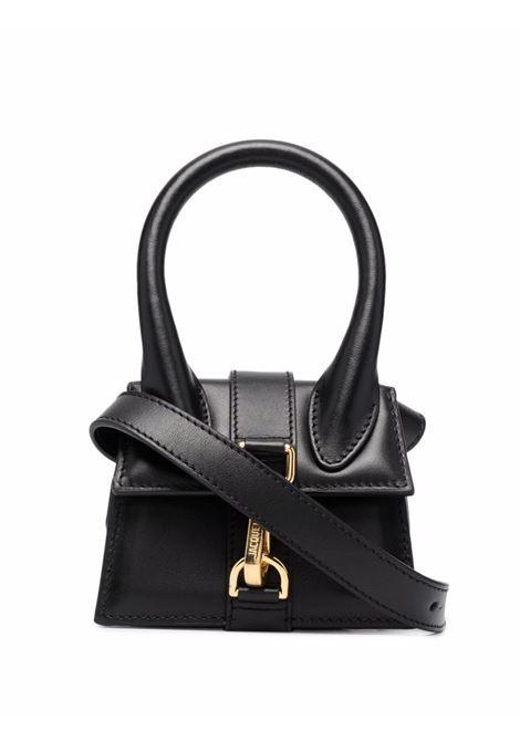 Le chiquito montagne bag in black - women  JACQUEMUS | 213BA1003000990